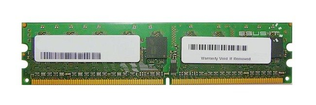 Memory RAM 1x 2GB Samsung ECC UNBUFFERED DDR2  533MHz PC2-4200 UDIMM | KVR533D2E4K2/2G